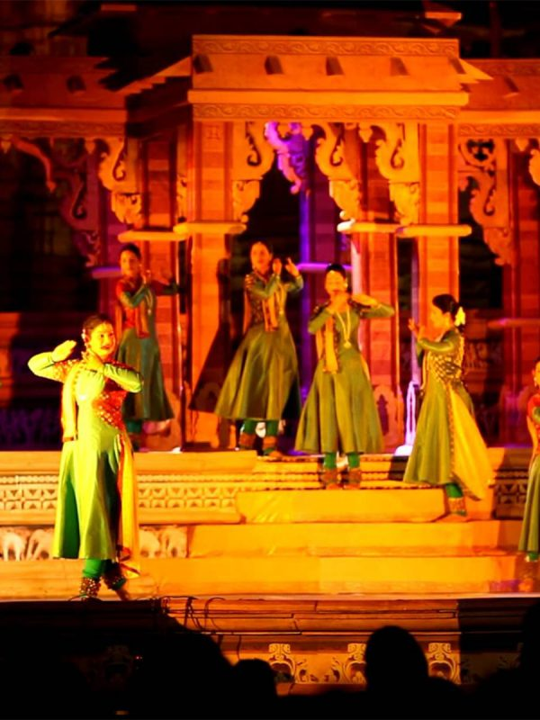 Golden Triangle including Khajuraho dance festival