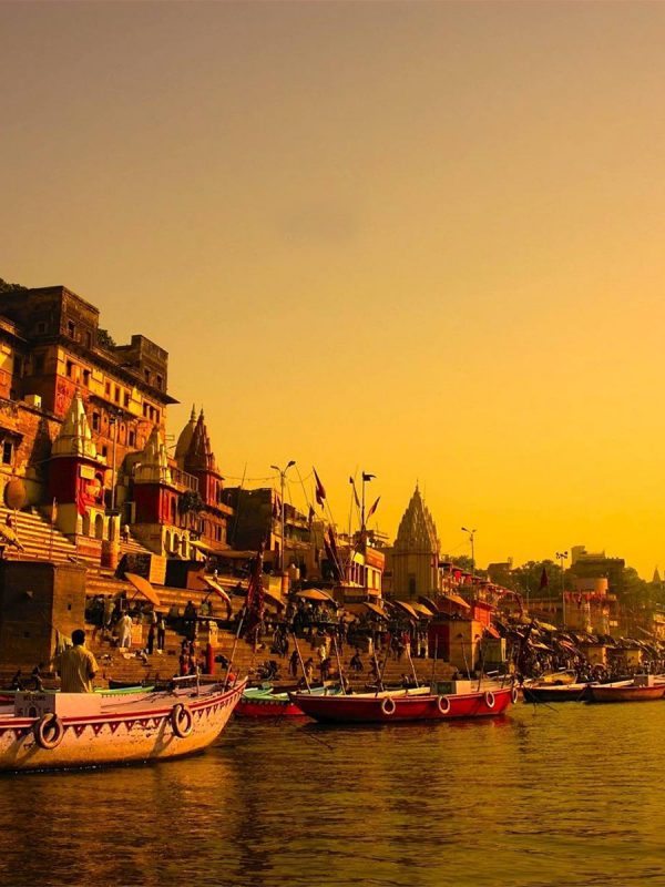 Golden Triangle including Khajuraho - Varanasi