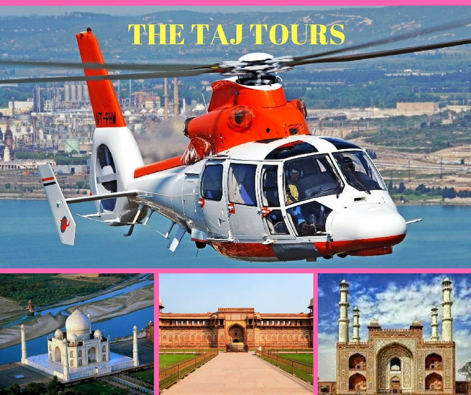 Coming Soon - Ariel view of Agra by Chopper