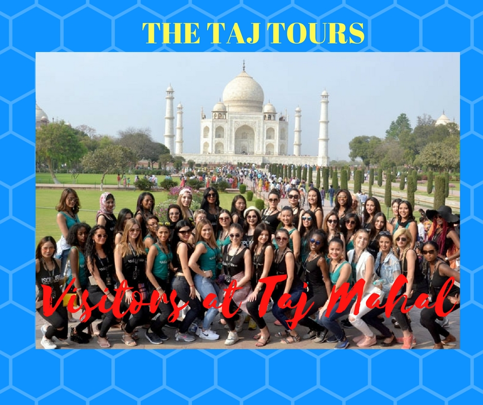 34 Supermodels visited Taj Mahal