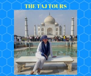 Germany's First Lady Büdenbender visited Taj Mahal and Sheros café
