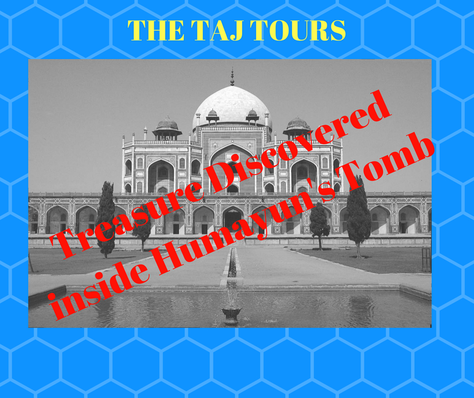 Treasure Discovered inside Humayun's Tomb