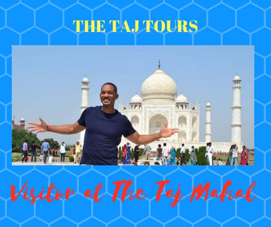 Will Smith visited Taj Mahal