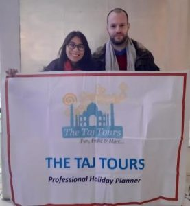 The Taj Tours Testimonial