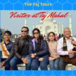 Former Indian Cricketer VVS Laxman visited Taj Mahal