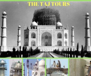 How mud packing of Taj Mahal is done